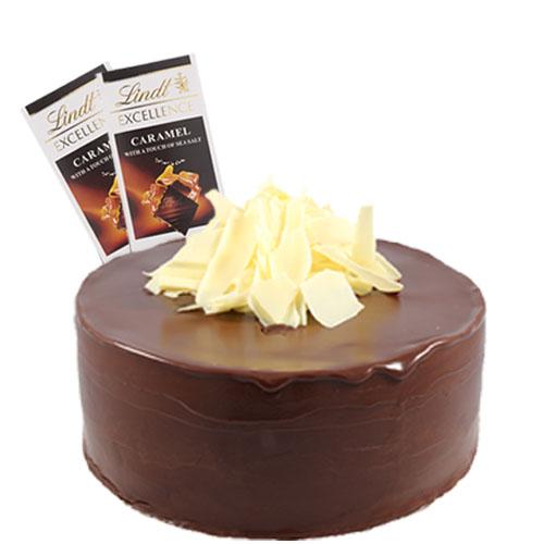 Dark Choco Cake with Chocolate