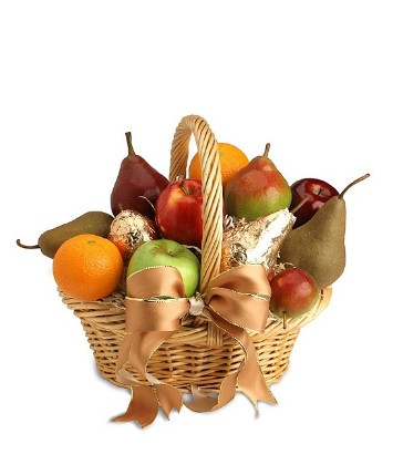 European style fruit basket