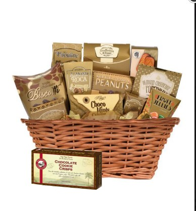 Gift Chocolate basket II