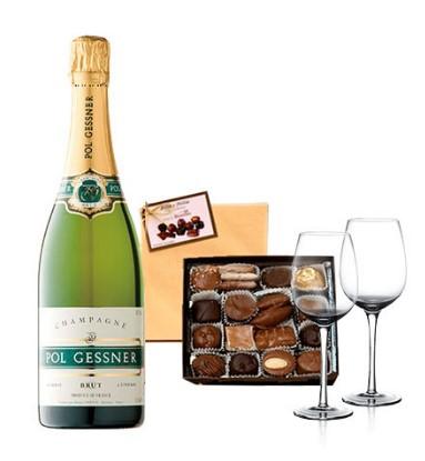 Champagne Chocolate Hamper