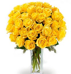 36 Yellow roses Bouquet